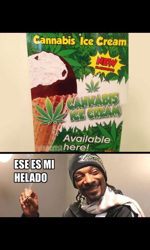 El helado de Snoop  - meme
