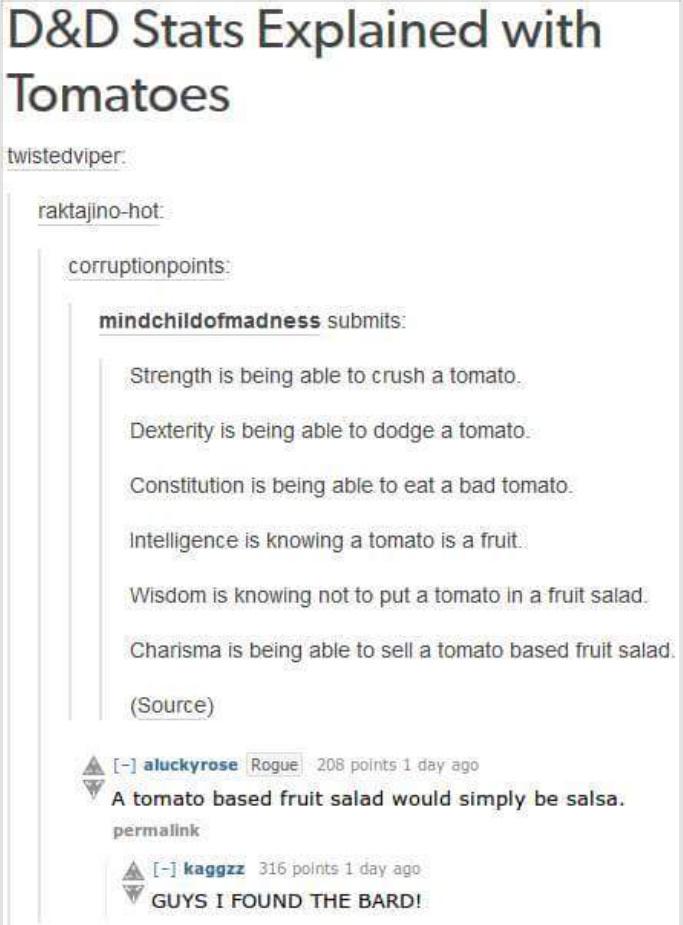 I like tomatoes... - meme