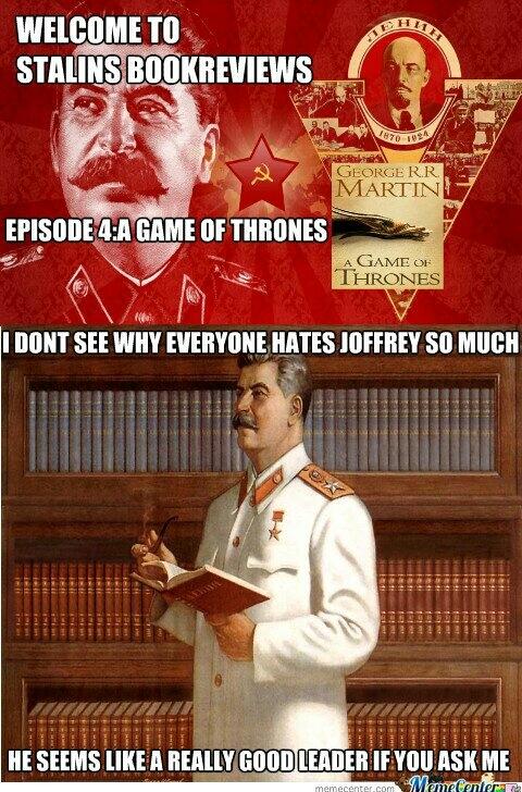 Game of Stalin - meme