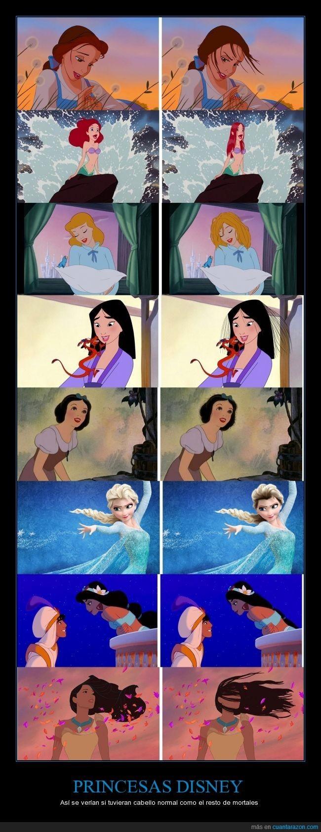 Pelo princesa - meme