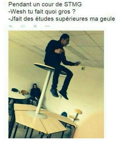 Les STMG x) - meme