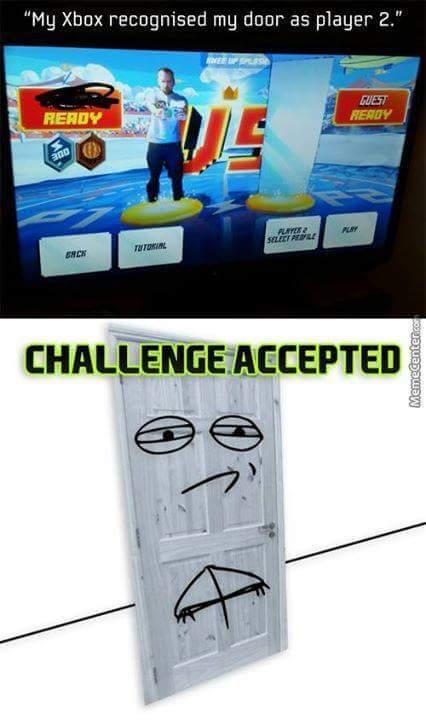 Door - meme