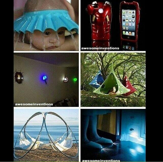 Buenos inventos - meme