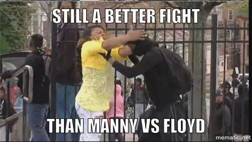 Many the fight memes continue