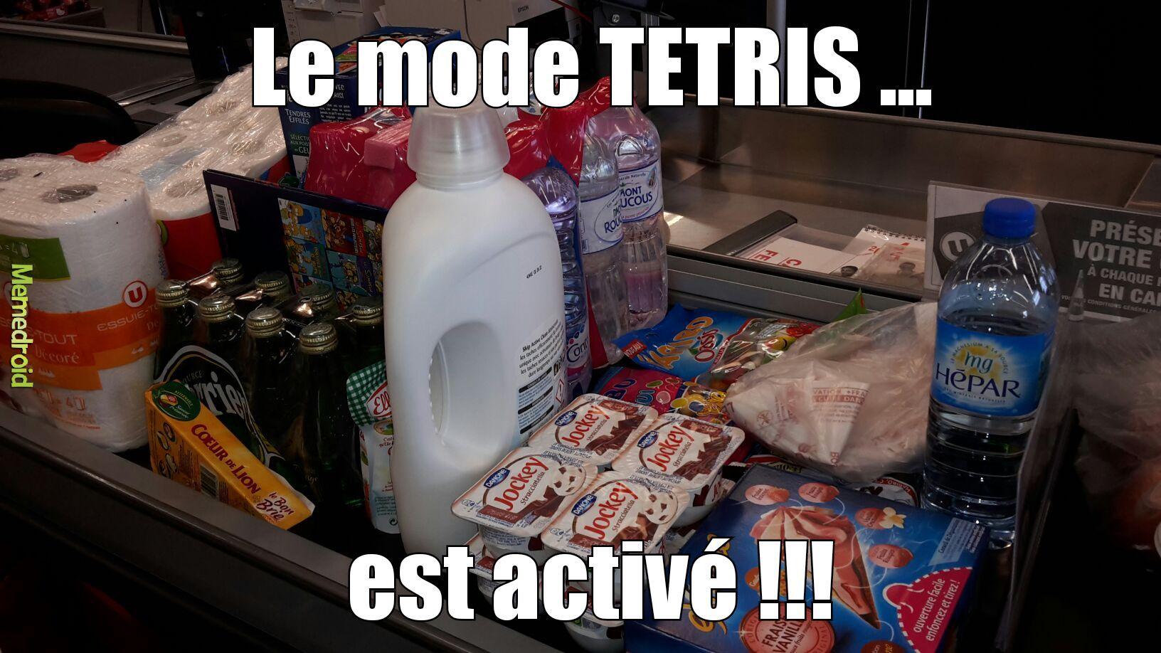 TETRIS LVL 10 - meme