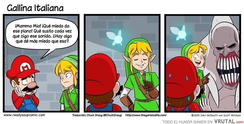 Pobre Mario - meme