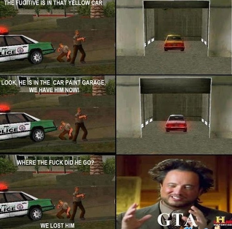 GTA Logic. - meme