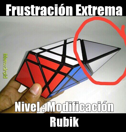 Modificaciones del cubo de rubik :) - meme