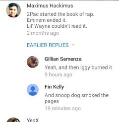 The Book Of Rap! (YouTube comments these day) XD - meme