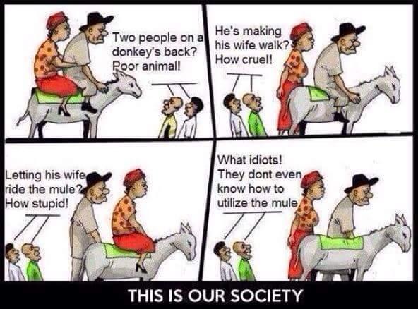 Society man - meme