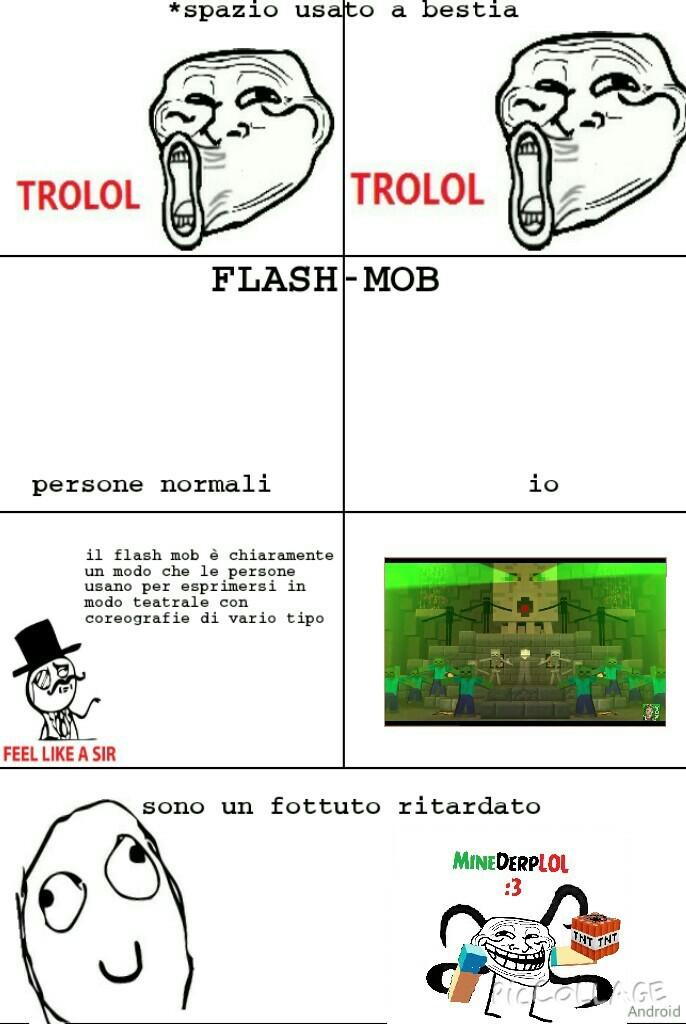 FLASH mob :lol: - meme