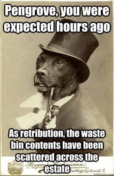 Gentleman doge - meme