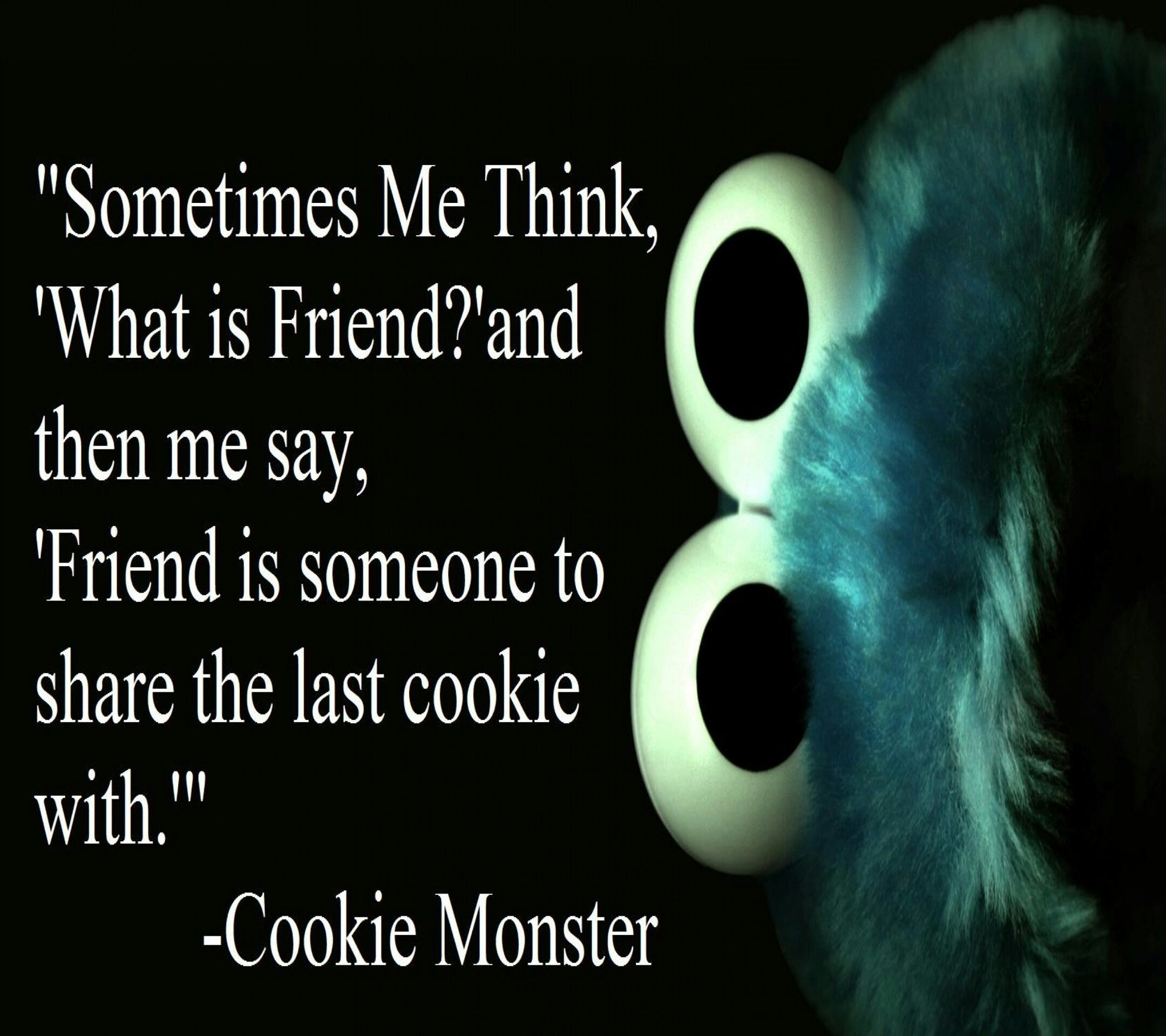 cookie monster quotes - 612×612
