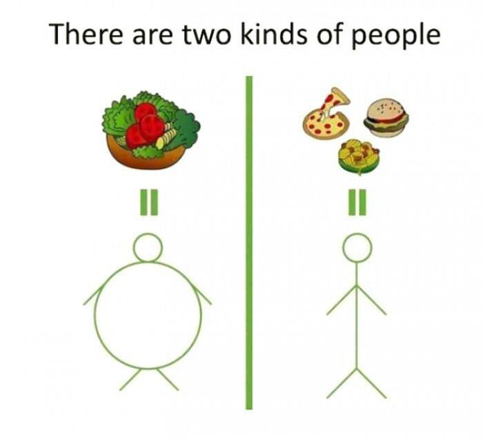 2 types de personnes - meme