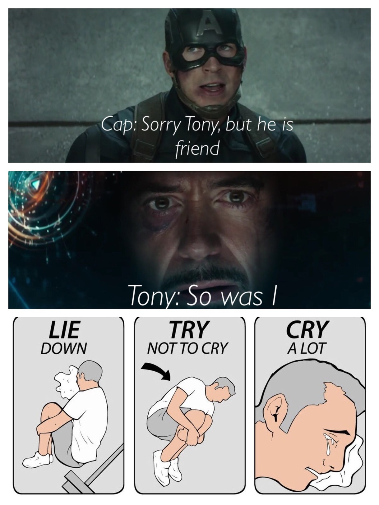 Even dank memes can't make me happy