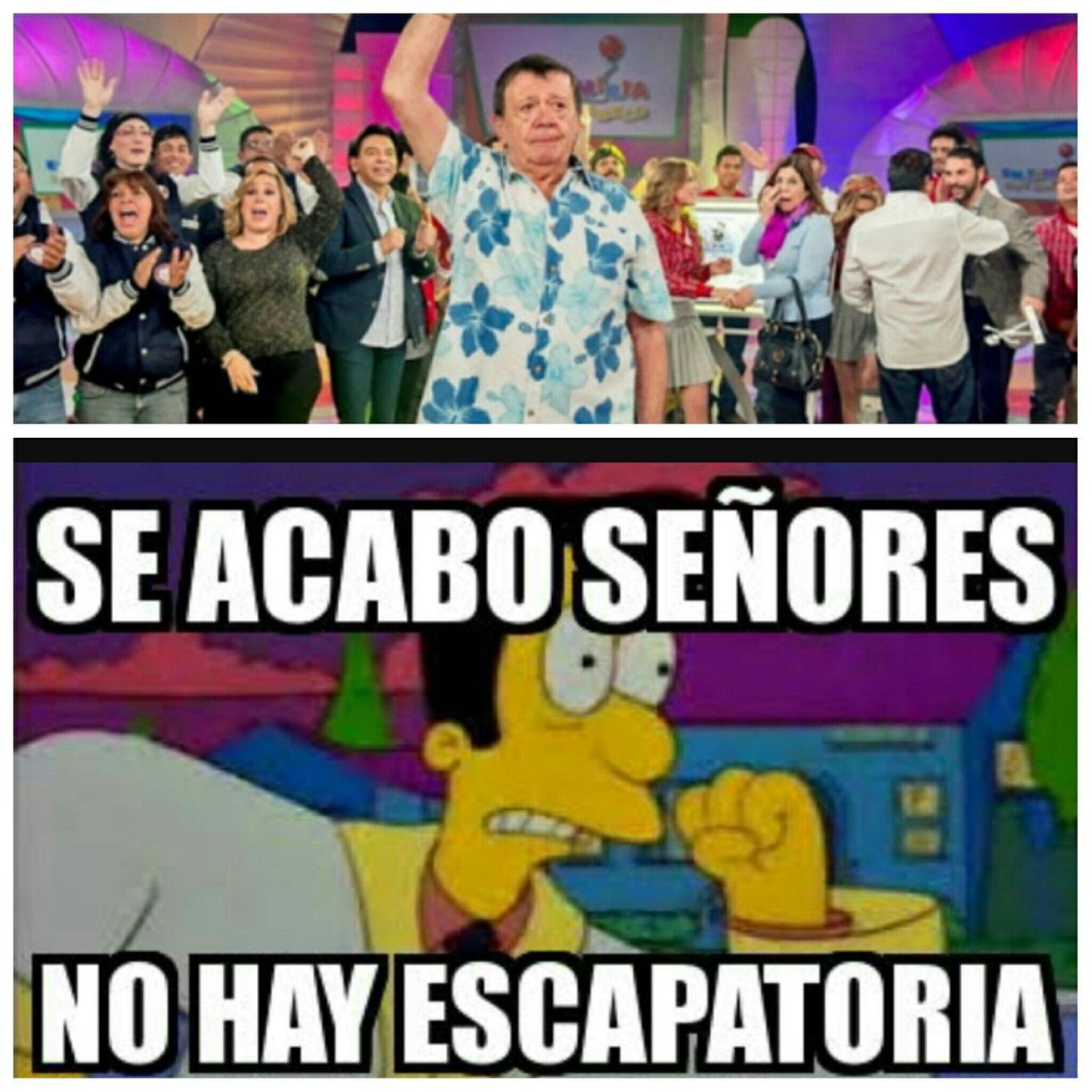 DIABLOS NO!! - meme