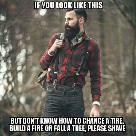 Damn hipsters - meme
