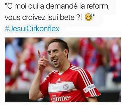 Ribery et l'orthographe - meme