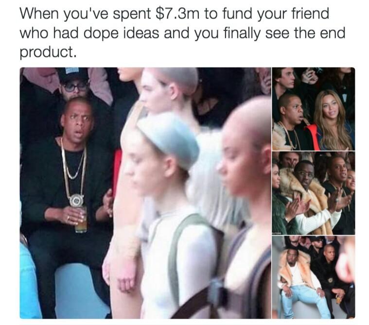 This is why that nigga in debt - meme