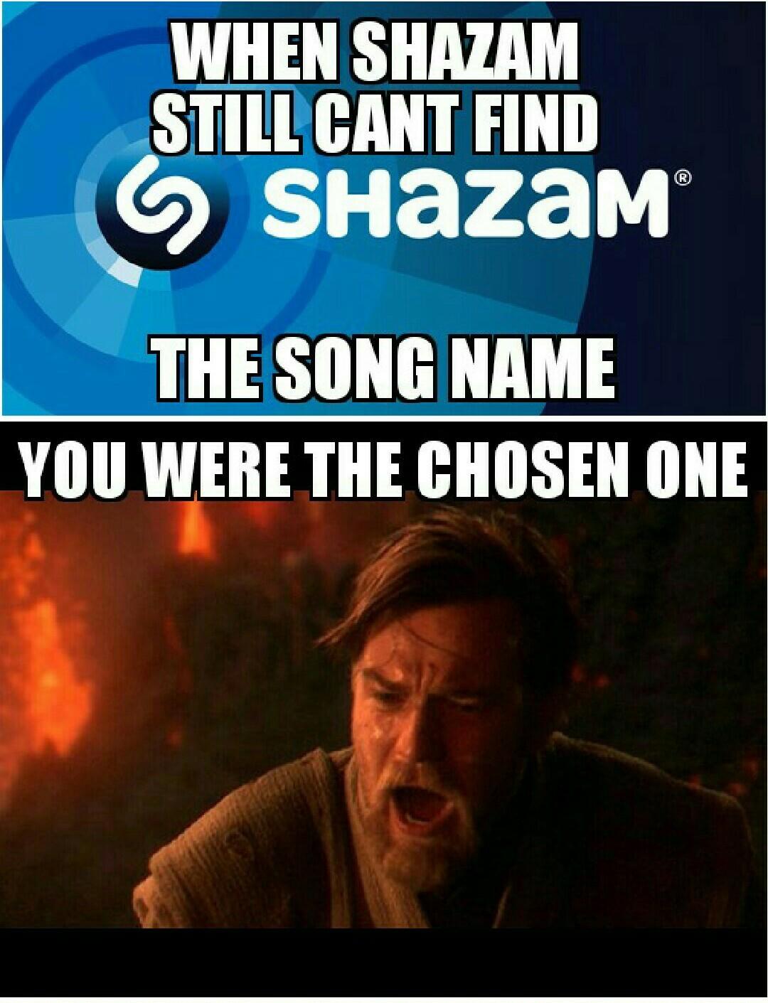 I love Shazam - meme