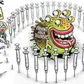 Antivaxxers = natural selection