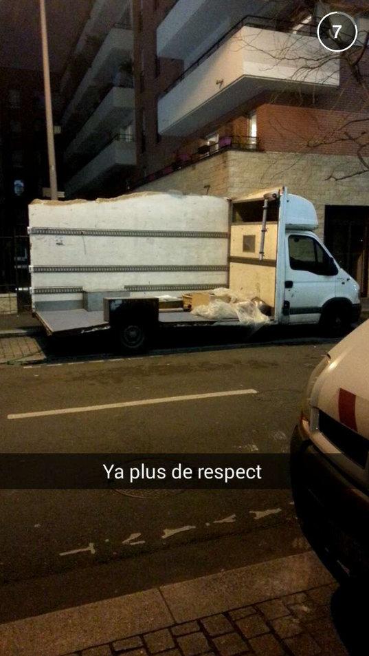 Pauvre camion - meme