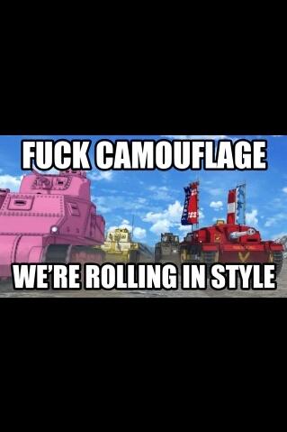 Girls und panzer!!! - meme