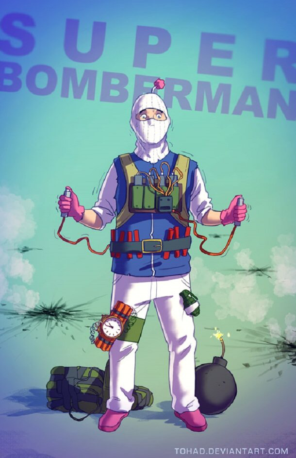 Bomberman - meme