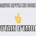 Apple et ses emojis --'