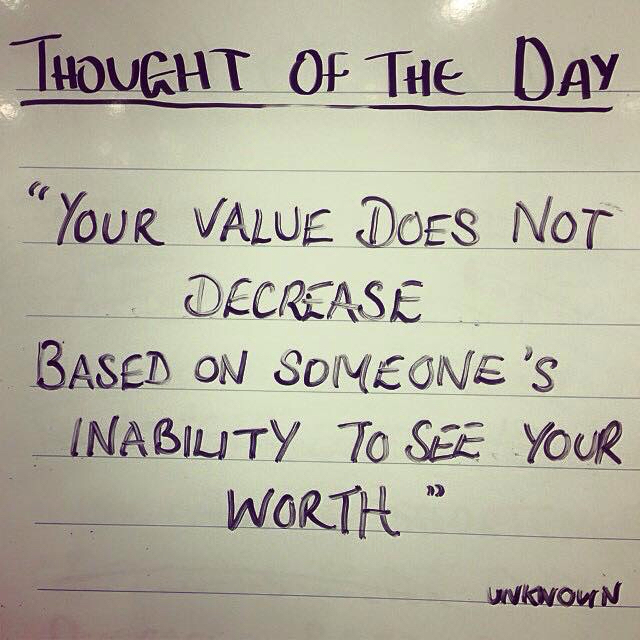 You're worth more than you think. - meme