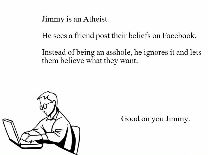 Jimmy's a really good guy! - meme