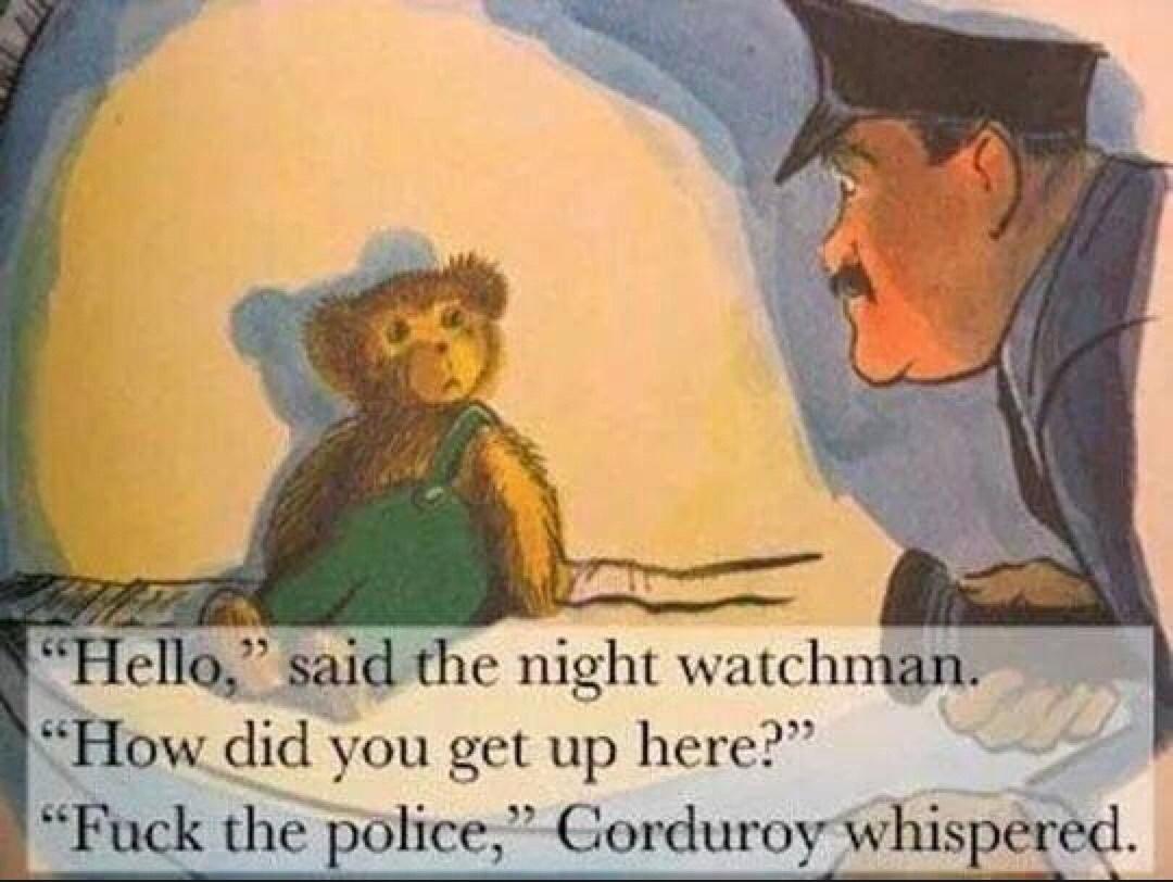 corduroy savage - meme