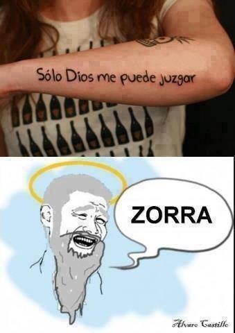 zorra - meme