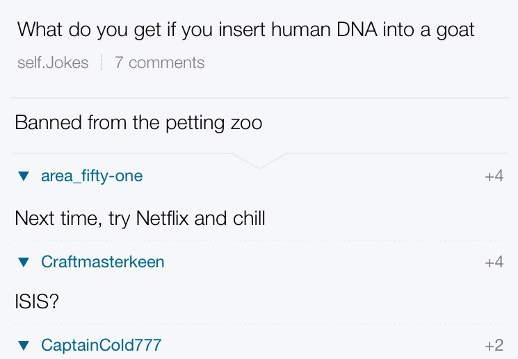 Netflix and goat - meme