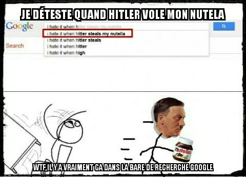 HITLER LE VOLEUR - meme