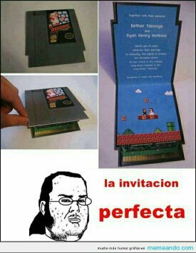 invitacion perfecta - meme