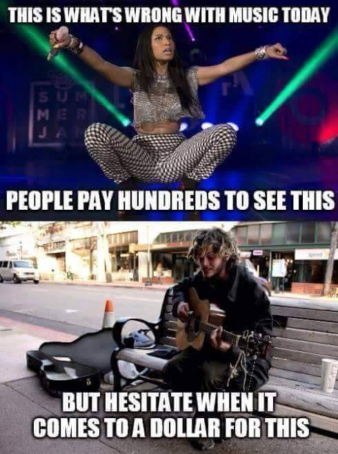 Those are the people that have the real talent.. - meme