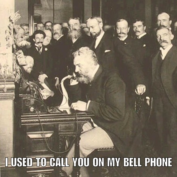 bell phone - meme