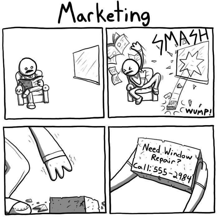 Marketing... Créer le besoin - meme