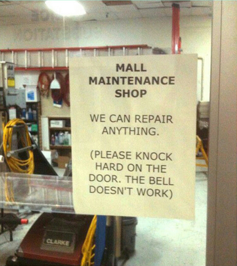 We can repair anything - meme