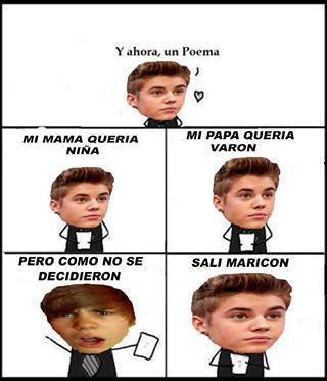 Justin - meme