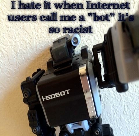 Racism is not ok - meme
