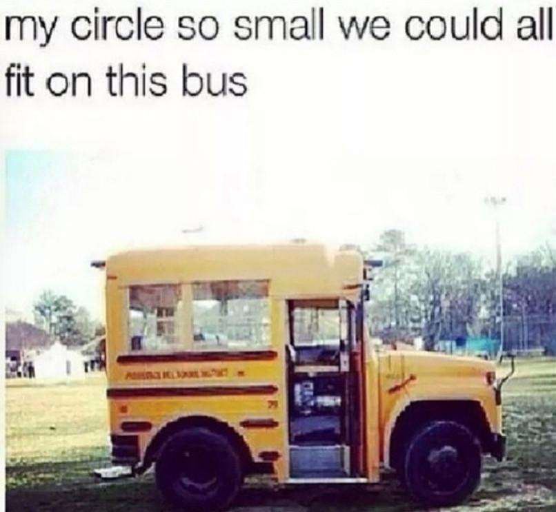 Small circles - meme