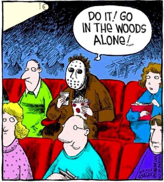 True Friday The 13th fan..... - meme