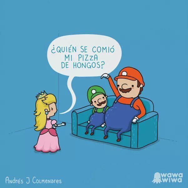 Mario... Mario... tu no tienes madre! - meme