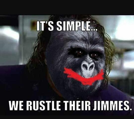 Rustle them up good - meme
