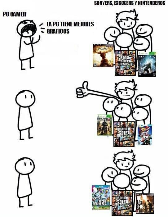 Pc gamers - meme