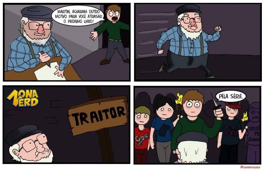 Vingança dos fãs do Jon - meme