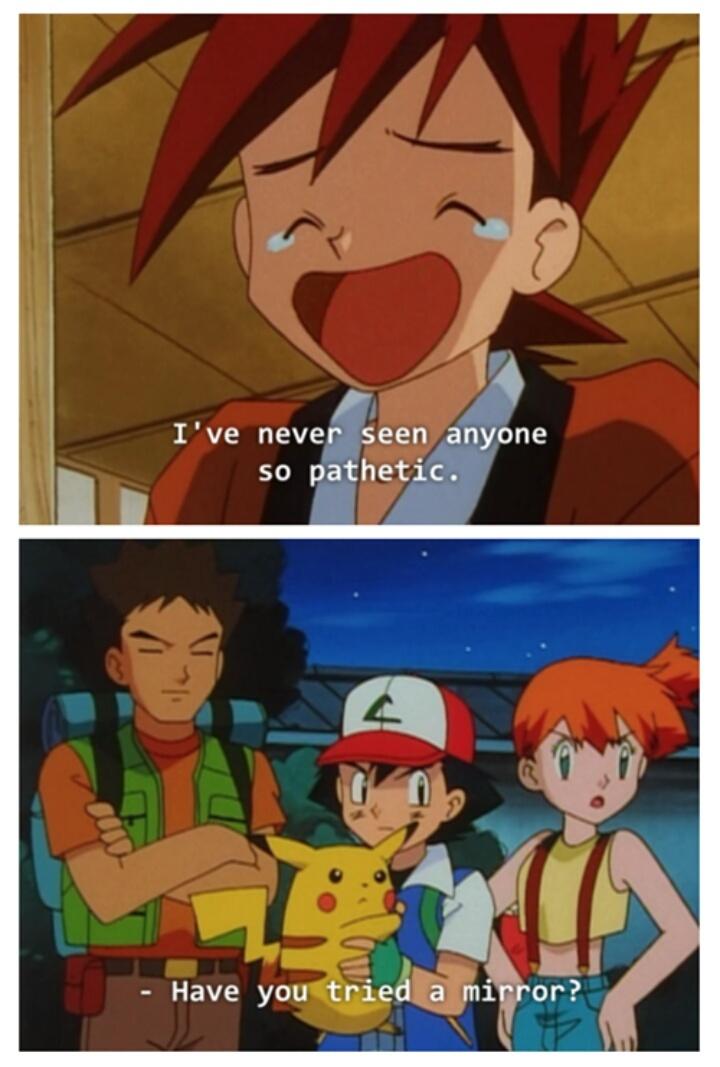 Pokemon title................... - meme