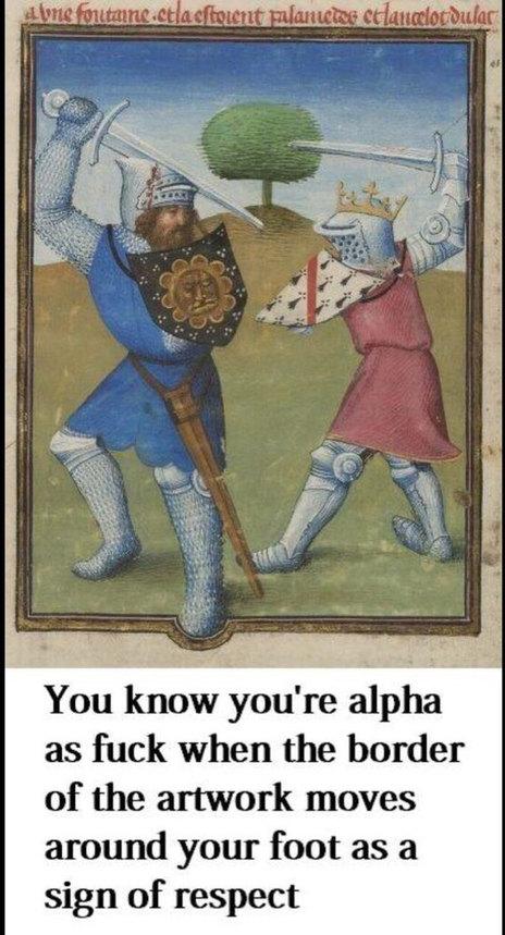 Alpha as fuck - meme